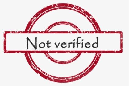 not verified