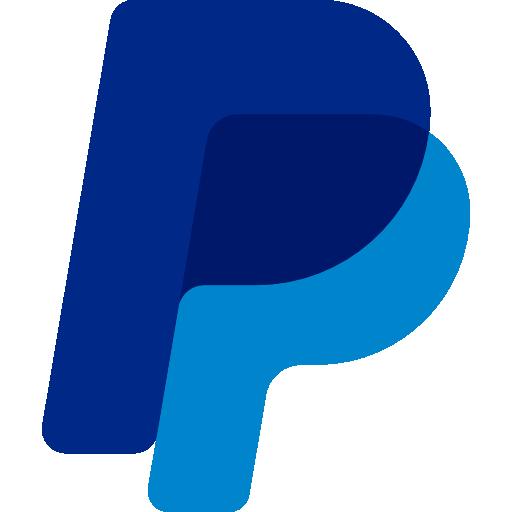 PayPal logo, online transaction