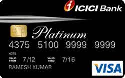 ICICI Instant Platinum credit card