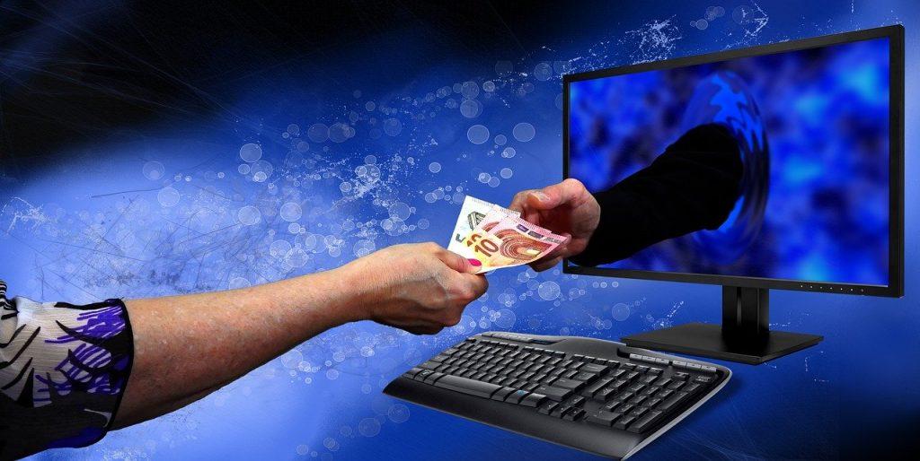 online transactions, freelancing, cash