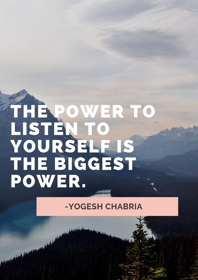 quote, power, motivation, success, Yogesh Chabria