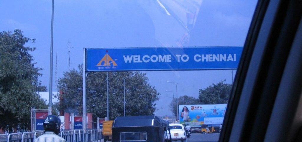 STREETS OF SINGARA CHENNAI.