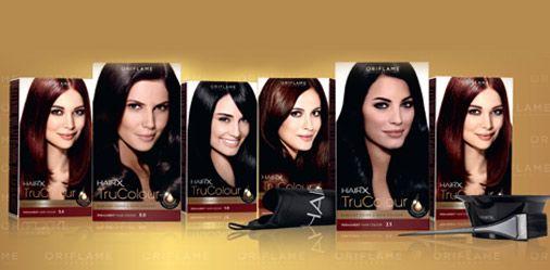 Haircolor Of Oriflame HairX TruColor