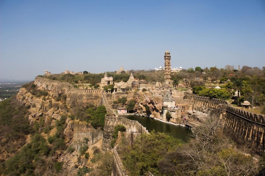 picture of chittorgarh fort