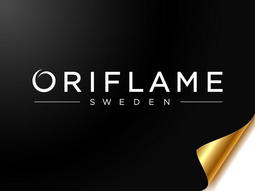 the logo of Oriflamr