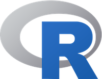 logo of R programming language