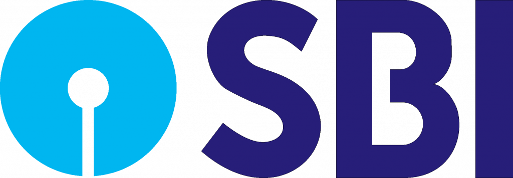 Image shows the logo of State Bank of India which is one of the biggest banks in India.