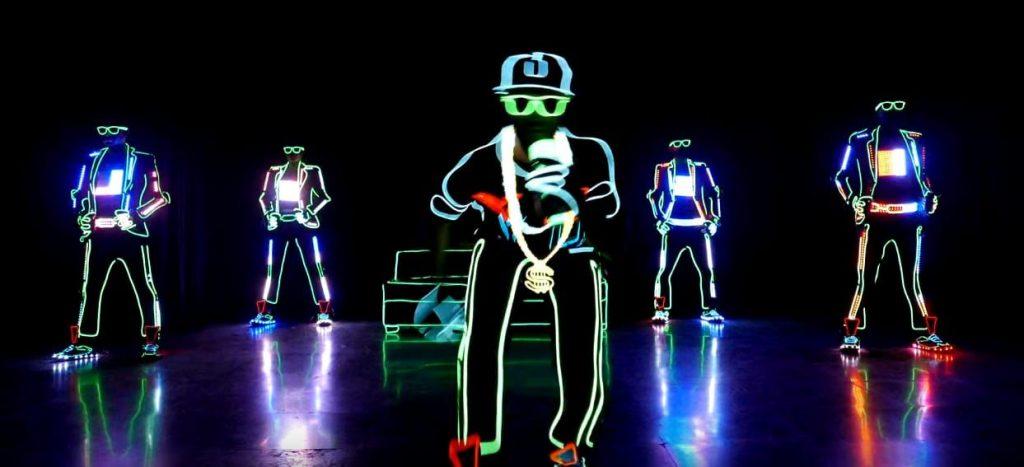 A dance crew