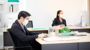 Maintaining  Social distancing in office