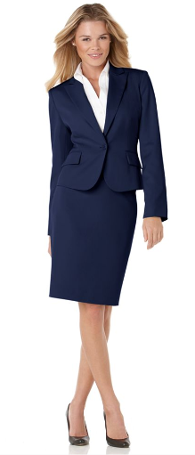 .Wear Navy blue jackets or blazer for unlimited options:
