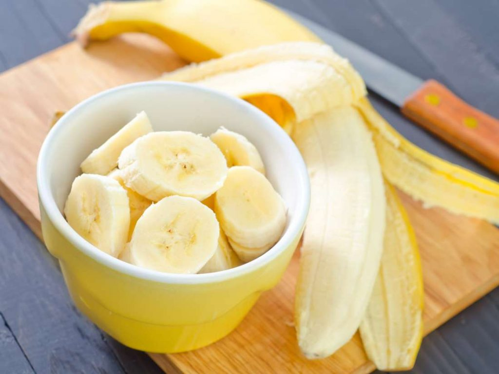 banana and banana peel