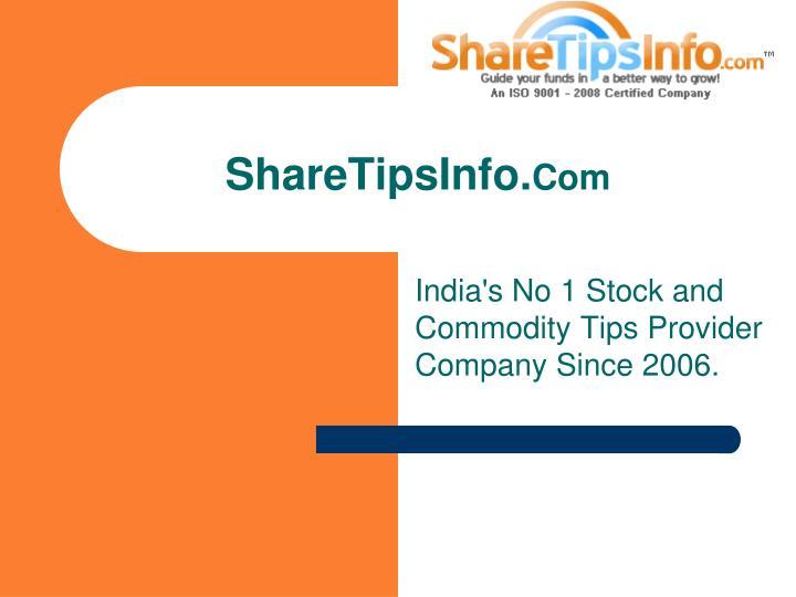 share tips info